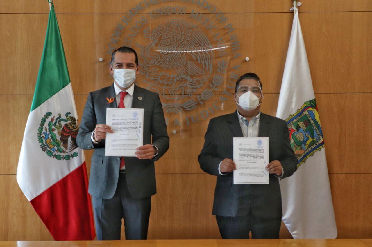 Poder Judicial y Chignahuapan instalarán juzgado municipal