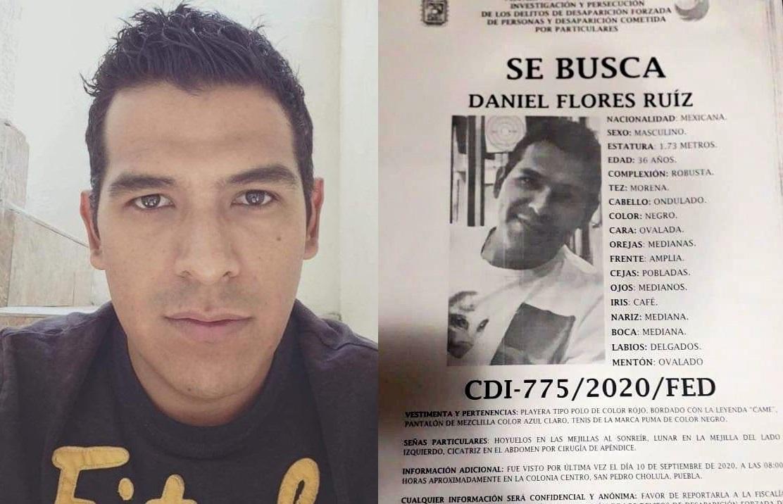 Daniel desapareció en pleno centro de San Pedro Cholula