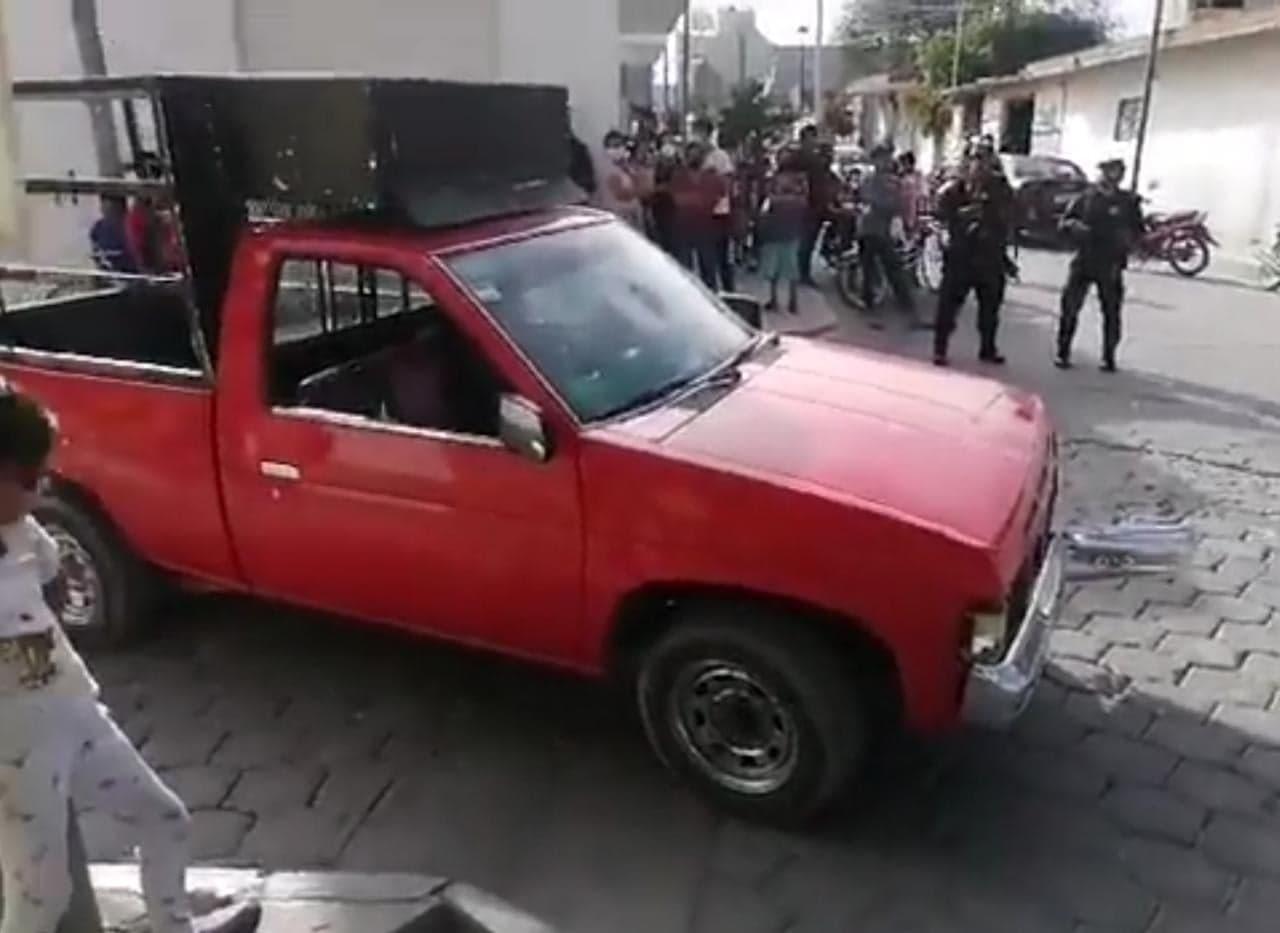 Intentó robar unas reses y casi lo linchan en Tehuacán