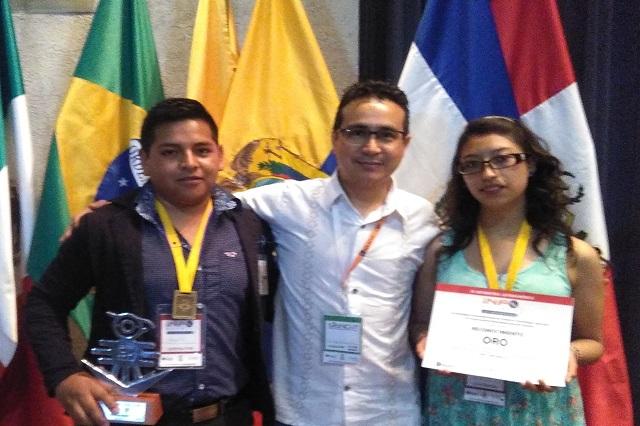 Estudiantes de Zacapoaxtla ganan concurso Infomatrix Latinoamérica
