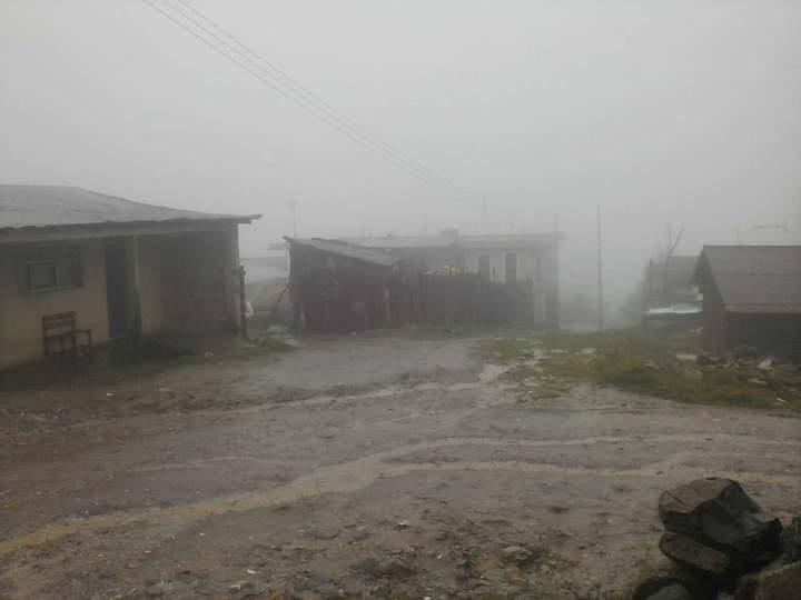 En alerta Sierra Negra de Ajalpan ante los frentes fríos