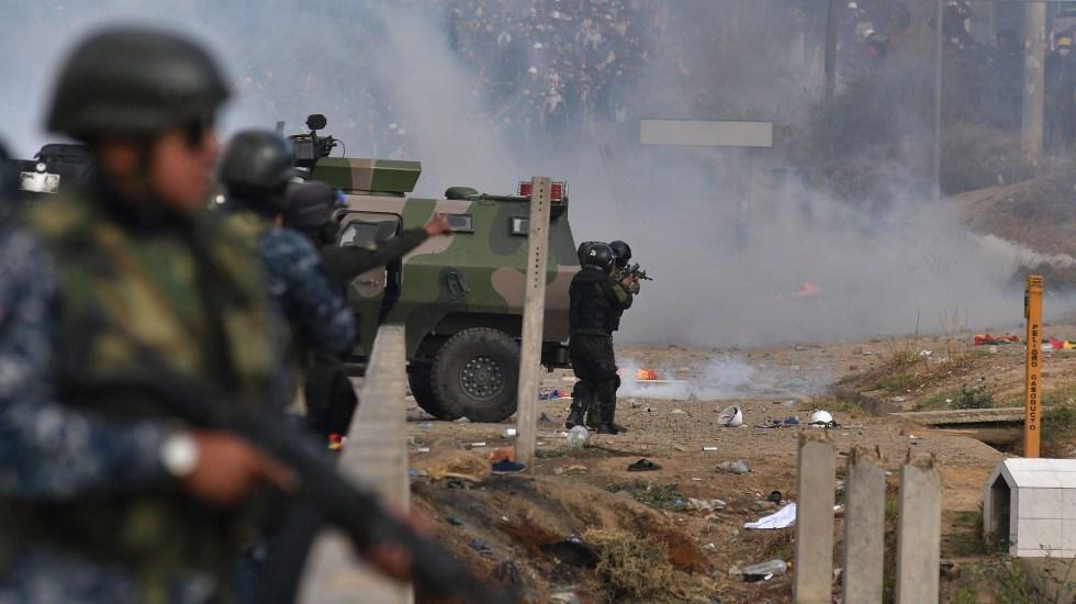 Van 9 muertos por choques entre policía y ciudadanos en Bolivia
