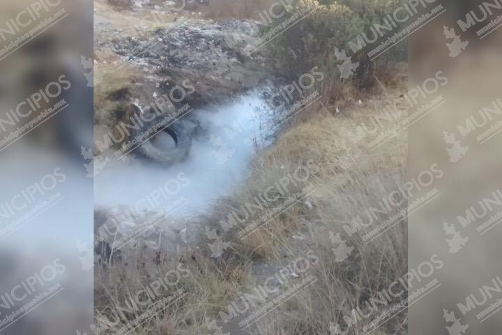 Fuga de gas obliga evacuación de Jardines de Amozoc