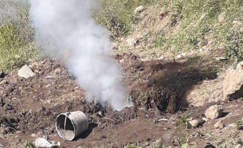 Registran nueva fuga de gas y ubican tomas clandestinas en Tlahuapan