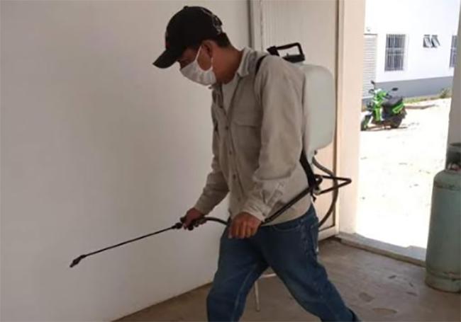 Se oponen ciudadanos a fumigación en Coxcatlán