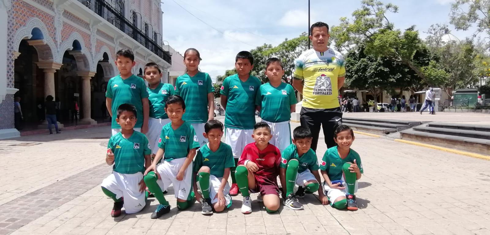 Equipo de fútbol infantil de Tehuacán viajará a Colombia representando a México