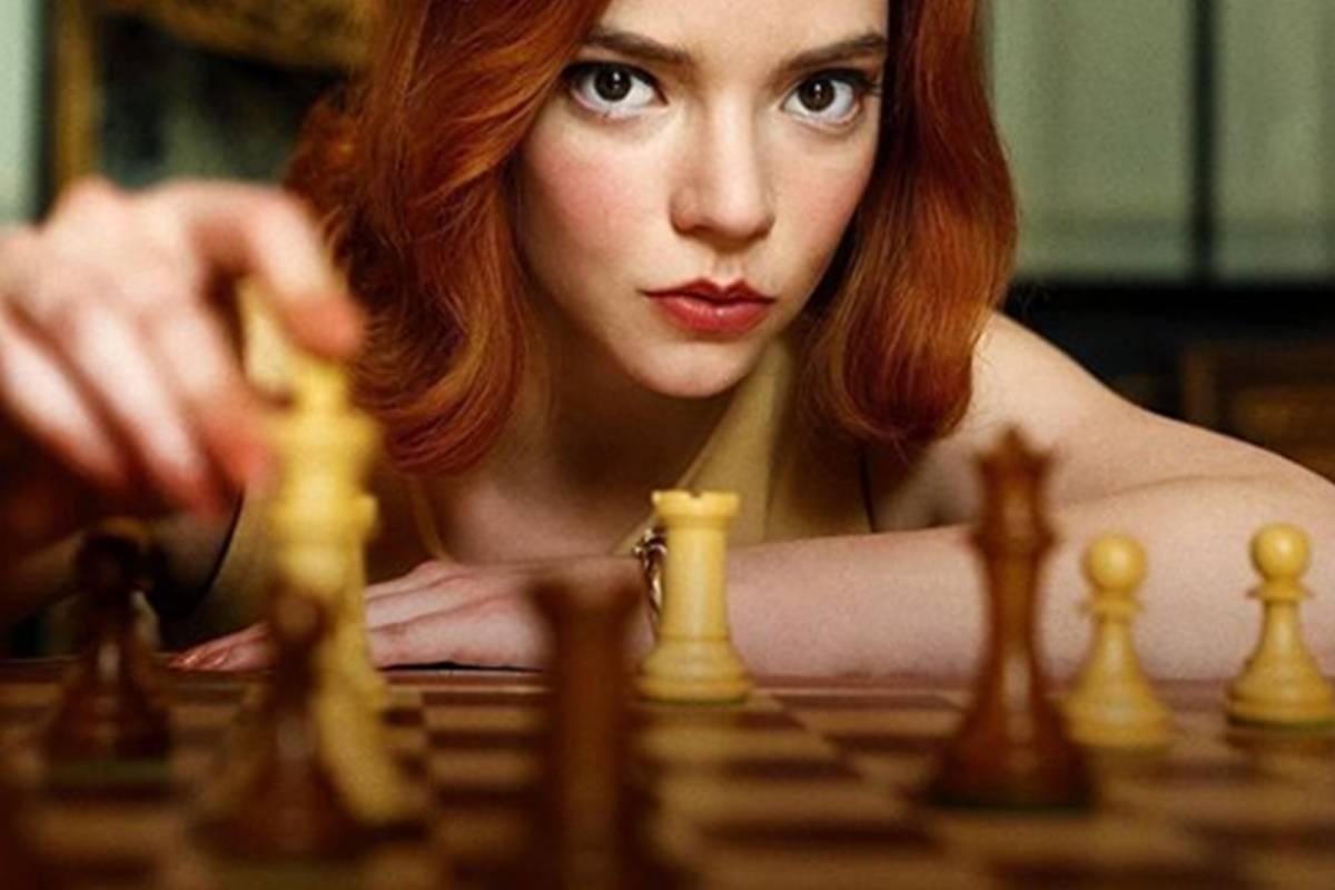 Gambito de dama, la miniserie más vista de Netflix
