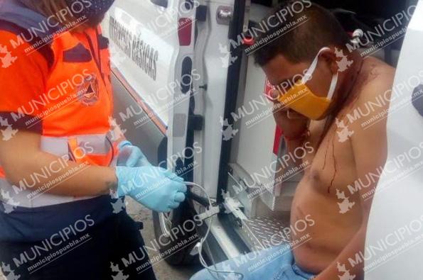 A cachazos gaseros se disputan la zona de venta en Puebla capital
