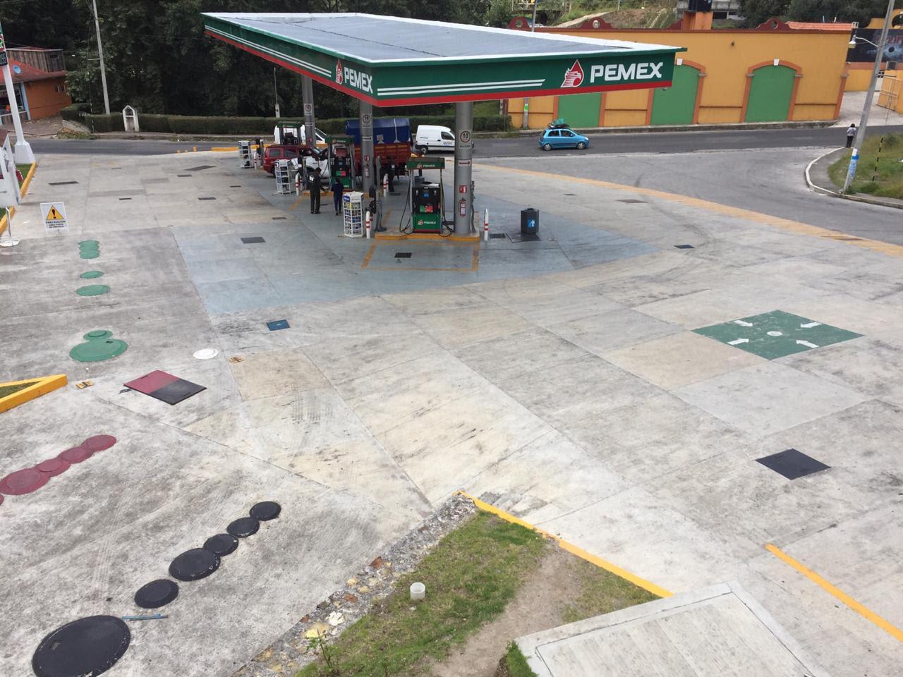 Frustran robo a gasolinera de Zacapoaxtla
