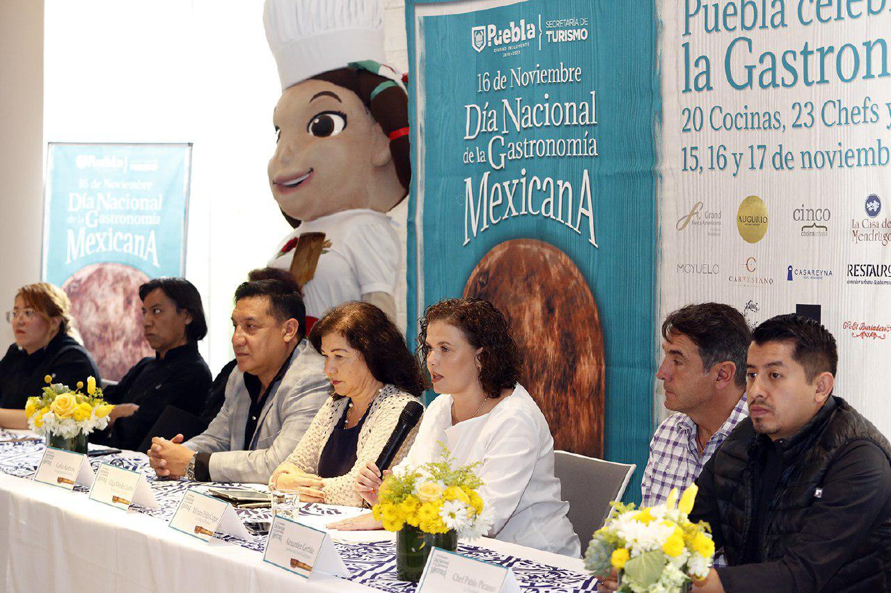 Puebla, sede del Día de la Gastronomía Mexicana 2019