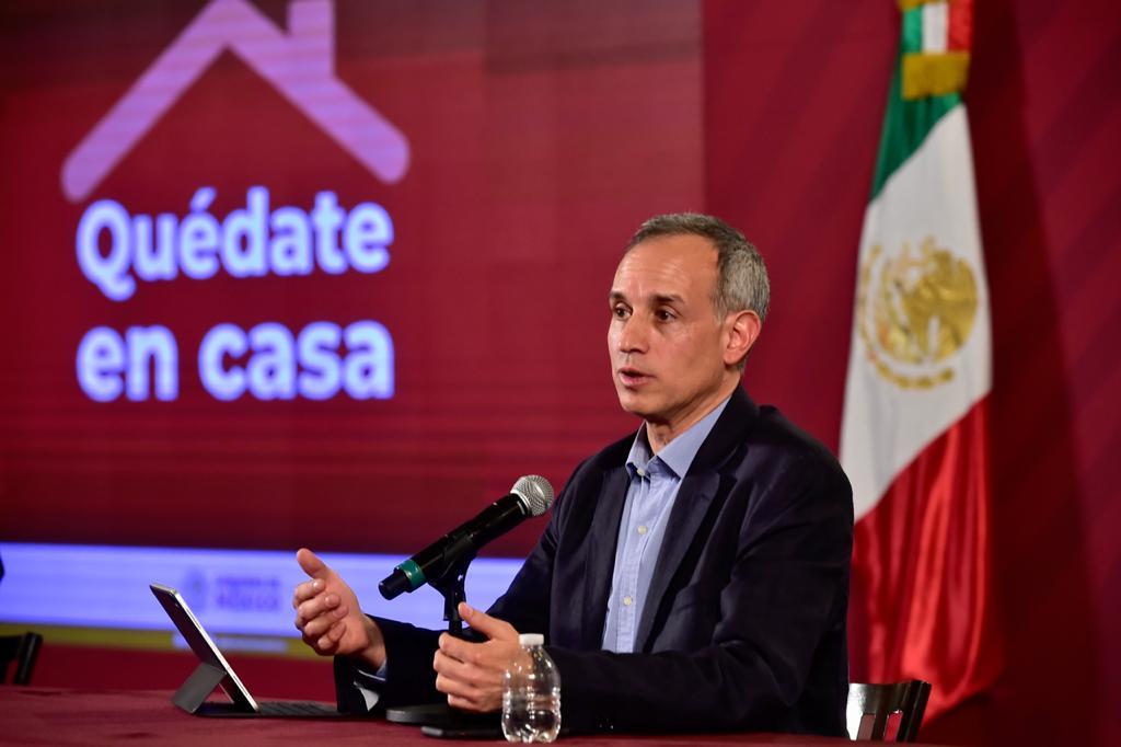 Habrá rebrote de Covid a mediados de octubre: López Gatell