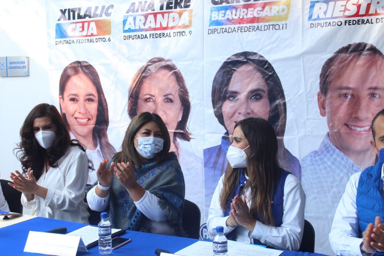 Candidatos de la Alianza Va por México, sin antecedentes de violencia: Huerta