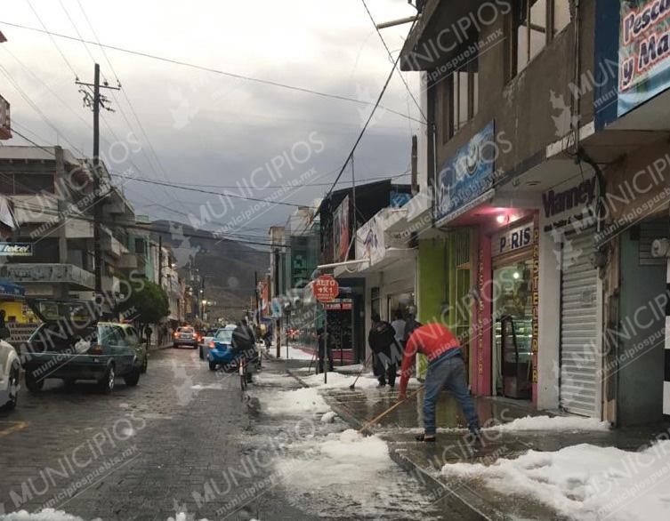 Indemnizan a 128 productores afectados por granizada en Tecamachalco