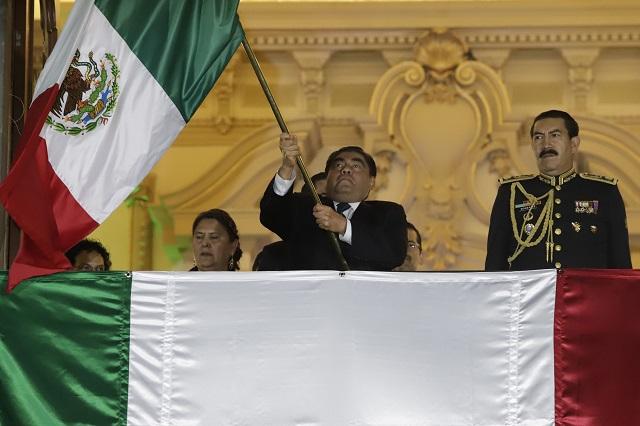 Sí habrá Grito de Independencia en Puebla pese a Covid: Barbosa