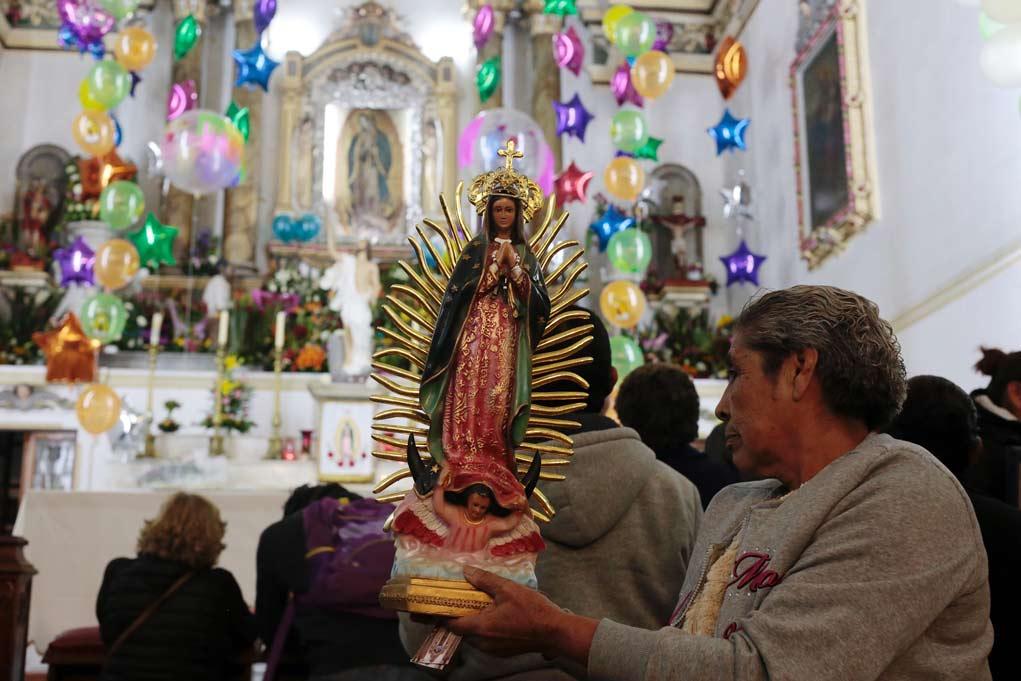 Festejos guadalupanos, con misas virtuales y sin verbena