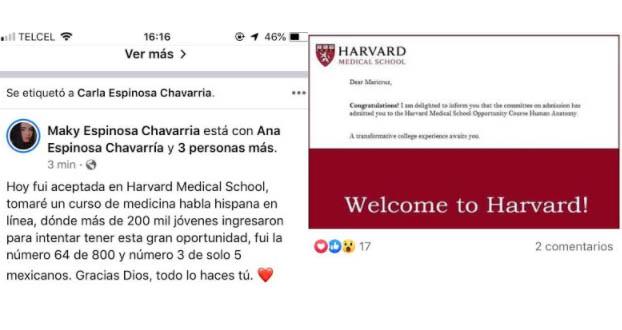 Joven originaria de Izúcar es aceptada en Harvard