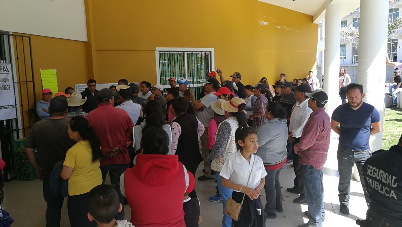 Amagan con linchar a presunto delincuente en Tlahuapan