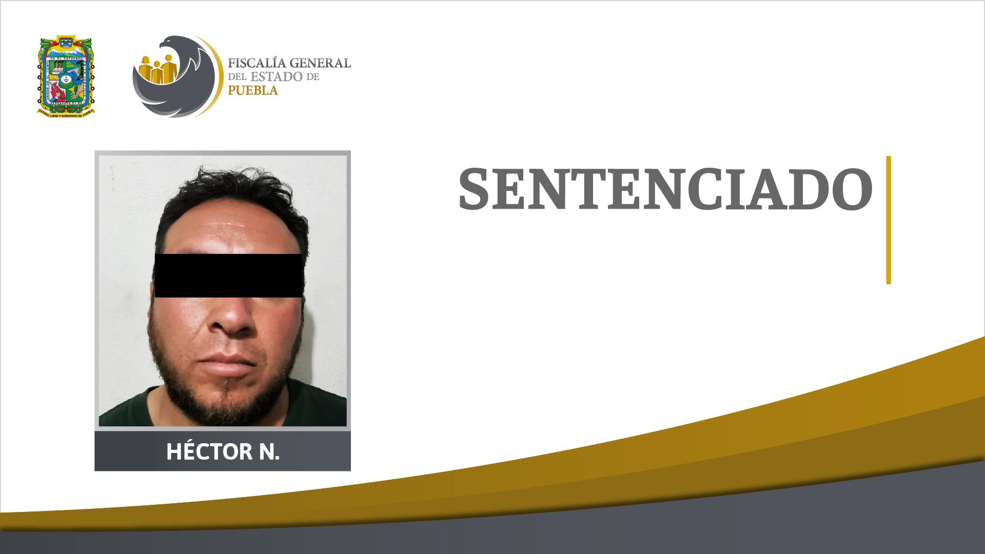Por secuestrar y matar a una mujer en Libres le dan 80 años a Héctor