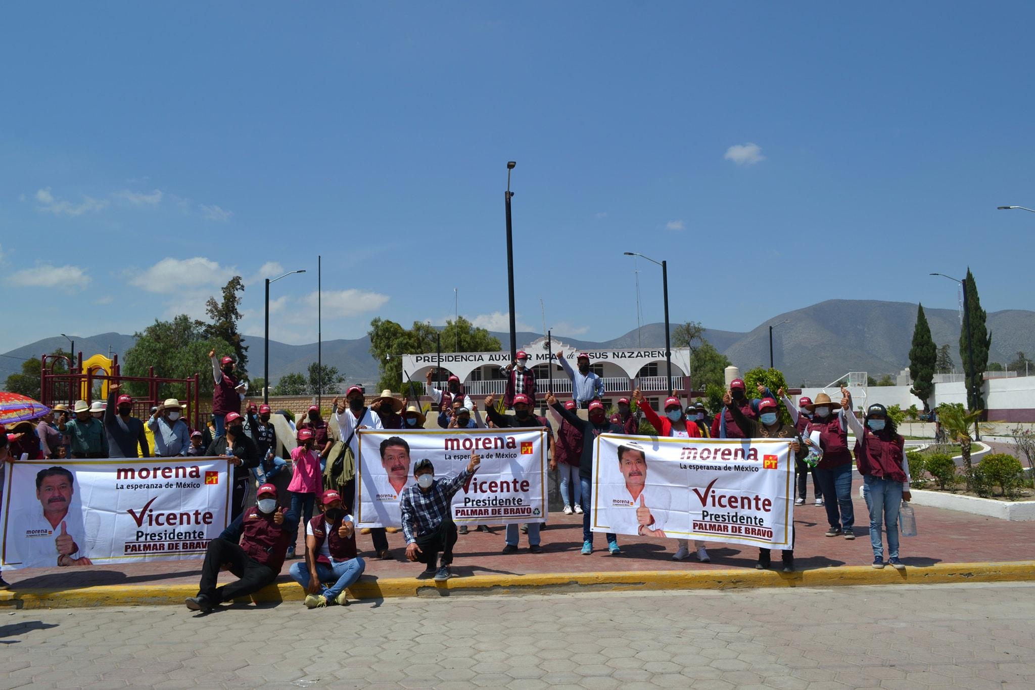 Secuestran y amenazan al candidato a edil de Morena de Palmar de Bravo