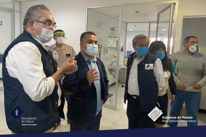 En 10 días lista área exclusiva Covid-19 en Hospital del Niño Poblano