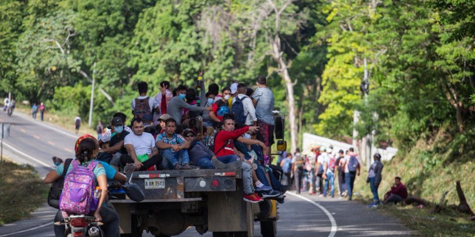 VIDEO Ordena presidente de Guatemala detenciones de caravana migrante