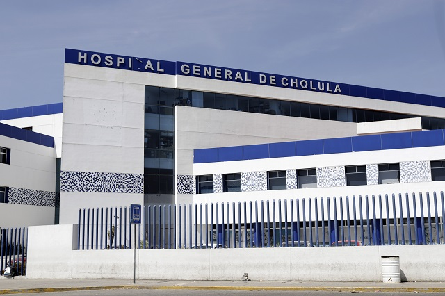 Hospital General del Norte y Cholula, con capacidad del 92% de Covid