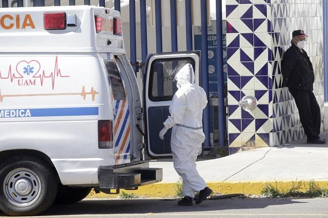 Reporta Puebla 283 nuevos contagios de Covid en 24 horas