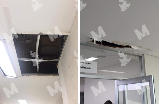 Hospital General del Sur en Puebla luce descuidado