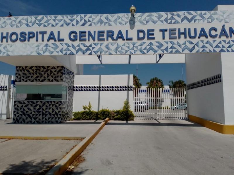 Se registra falta equipo de oxígeno y camas en el Hospital General de Tehuacán