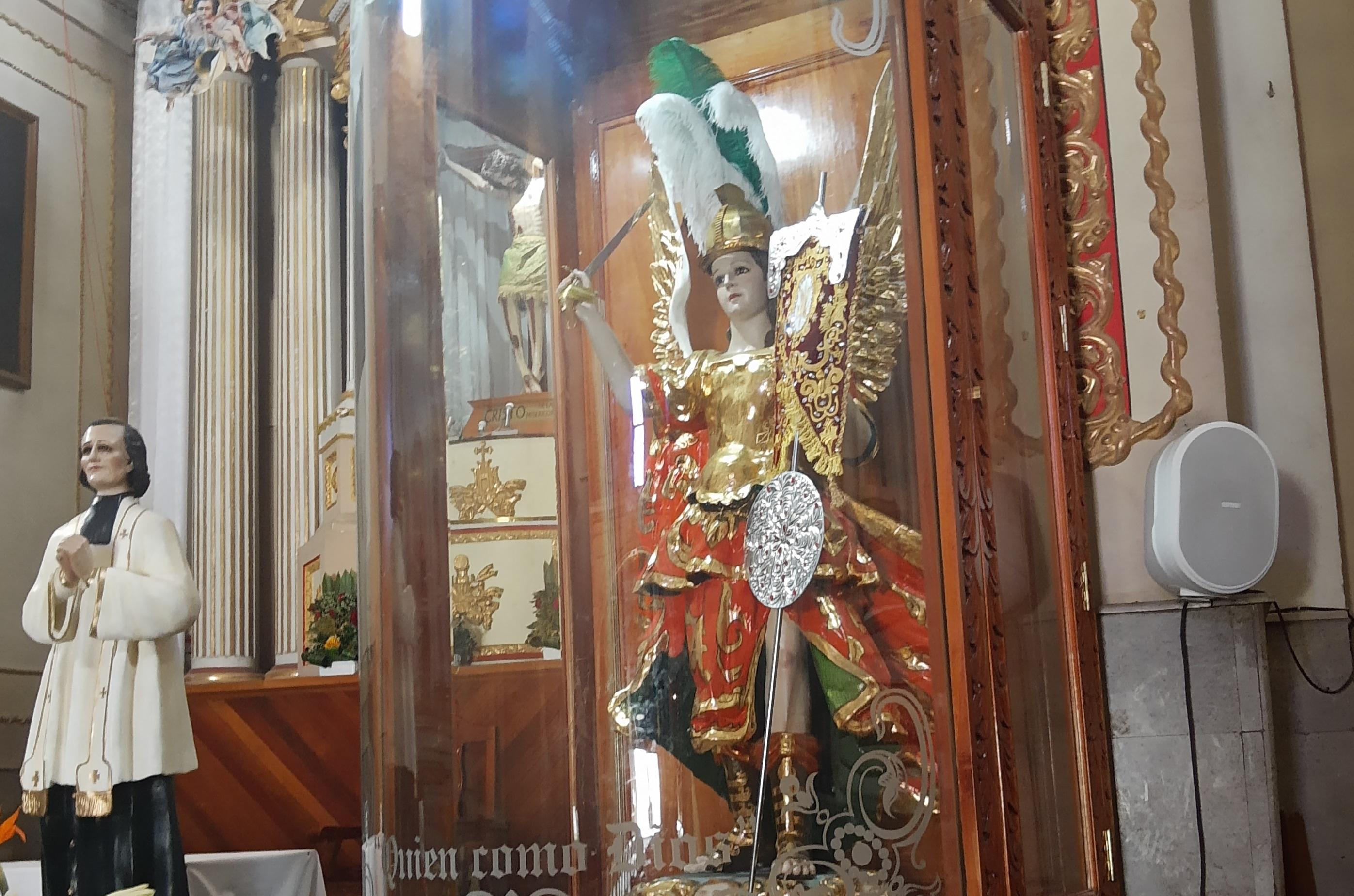 A puerta cerrada fiesta patronal en Huejotzingo por Covid-19