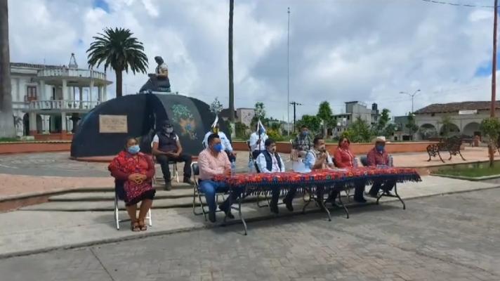 Cancelan feria en honor a Santa Filomena en Hueyapan