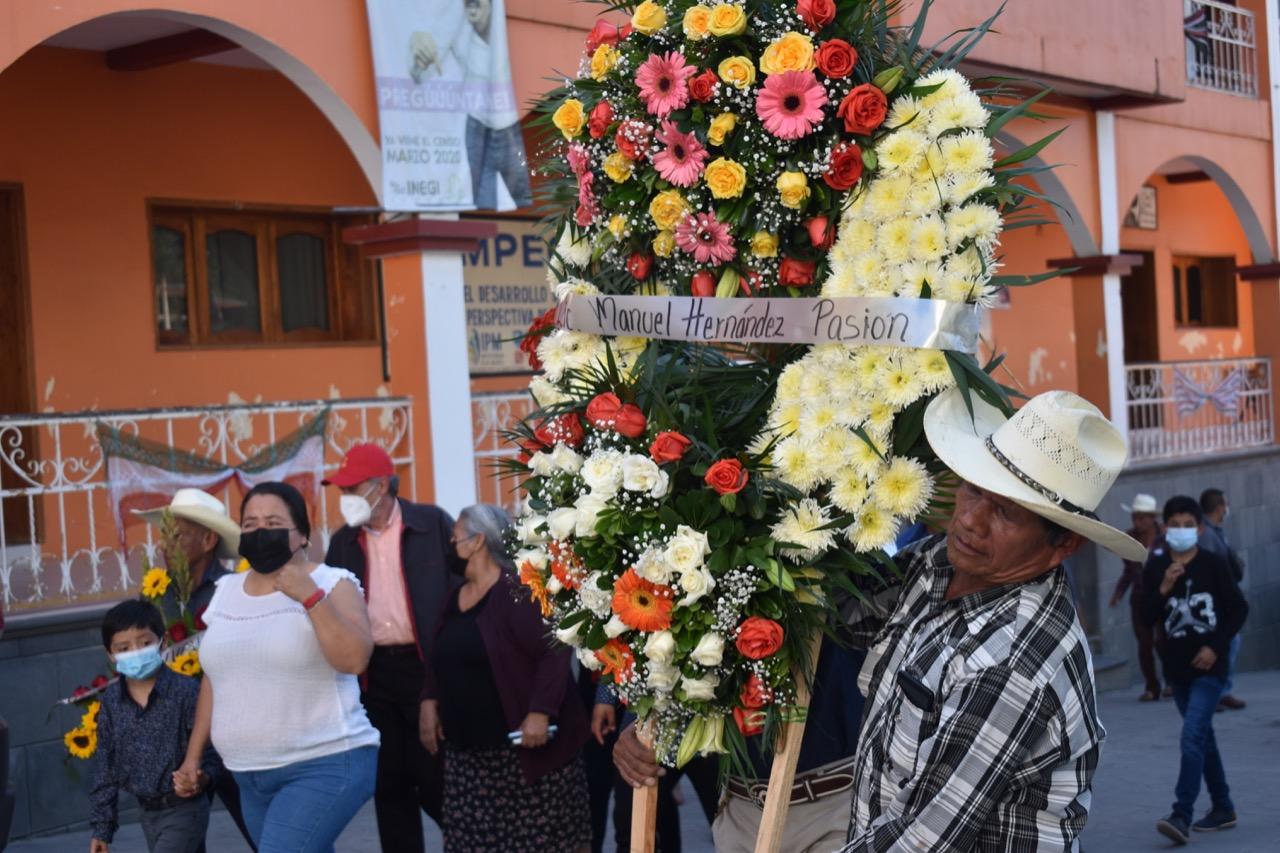 Conmemoran aniversario luctuoso del edil de Huitzilan