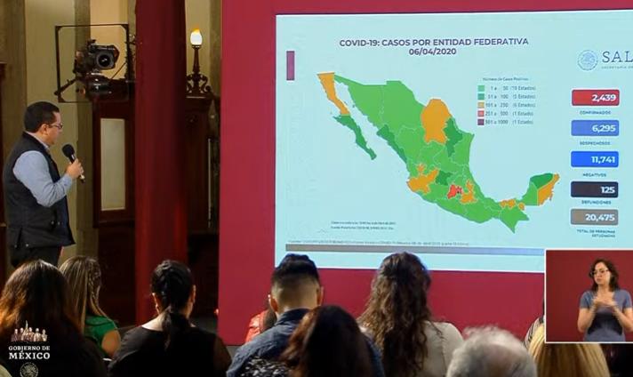 VIDEO Aumenta a 125 los muertos por coronavirus en México; hay 2439 casos positivos