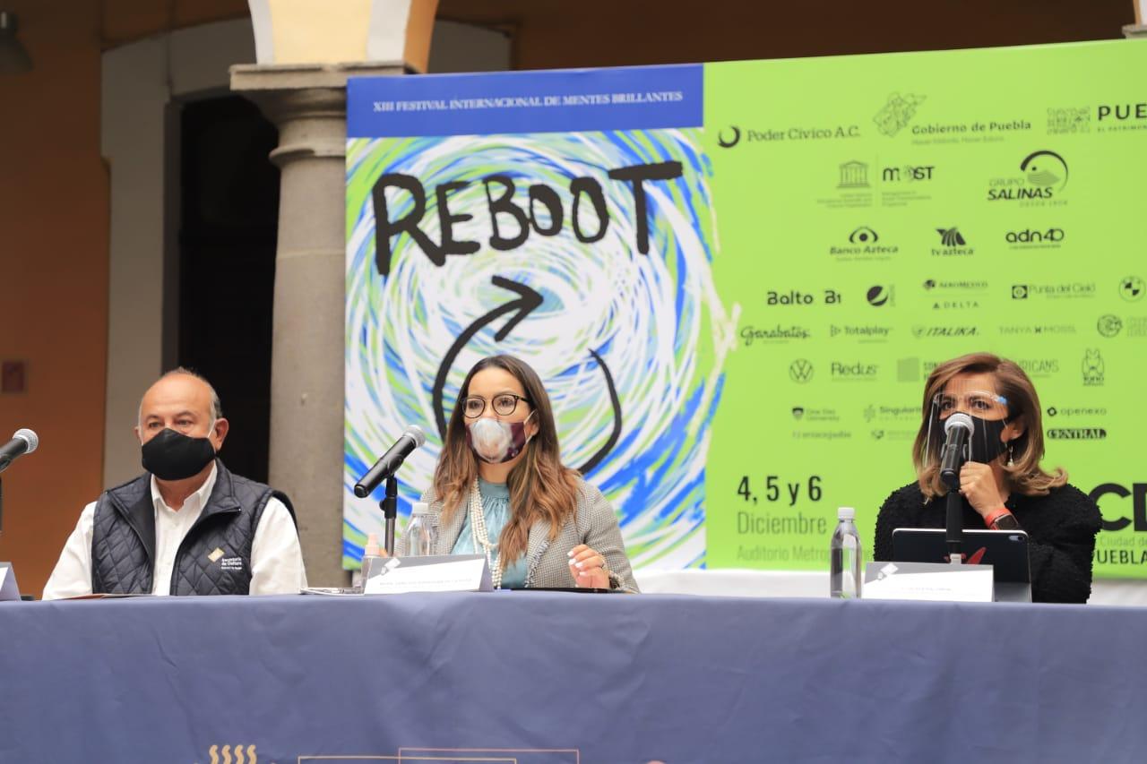 Puebla recibirá la décimo tercera edición de La Ciudad de las Ideas