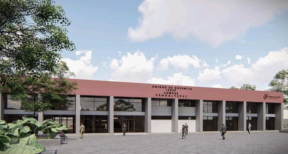 Por cooperación buscarán terminar construcción de Universidad en Yehualtepec