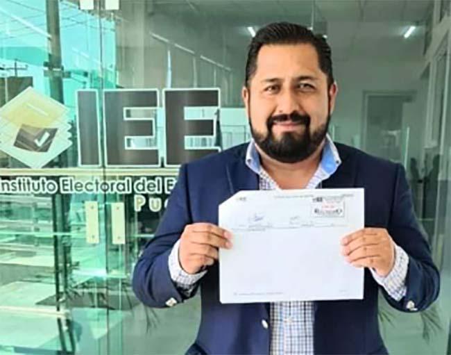 Afirma Ramírez contar con firmas para la candidatura independiente de Texmelucan