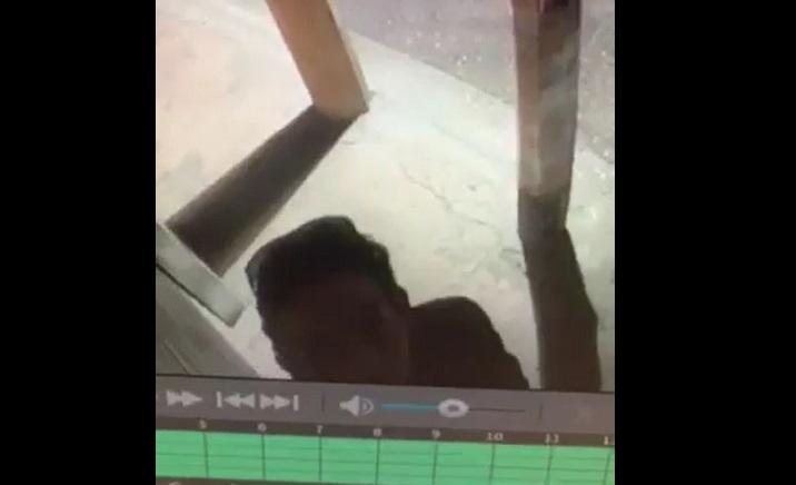 VIDEO Roban hasta las cámaras de vigilancia en Tecamachalco