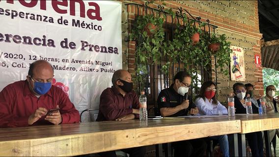 No nos quitarán otra vez la candidatura a la alcaldía: morenistas de Atlixco