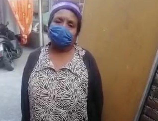 Desesperada, atlixquense pide ayuda para sepultar a su esposo