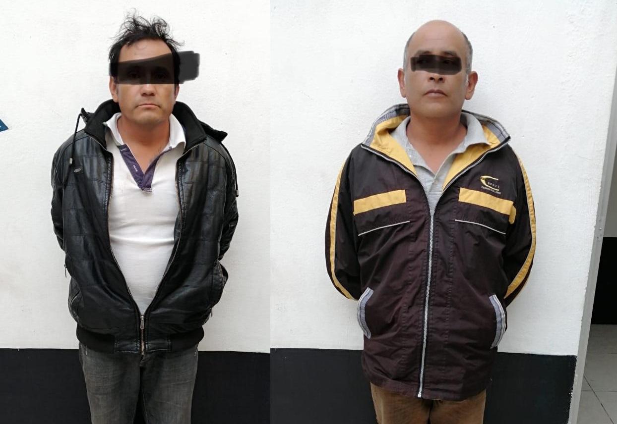 Armados y en flagrancia, detienen a ladrones de casas en Atlixco