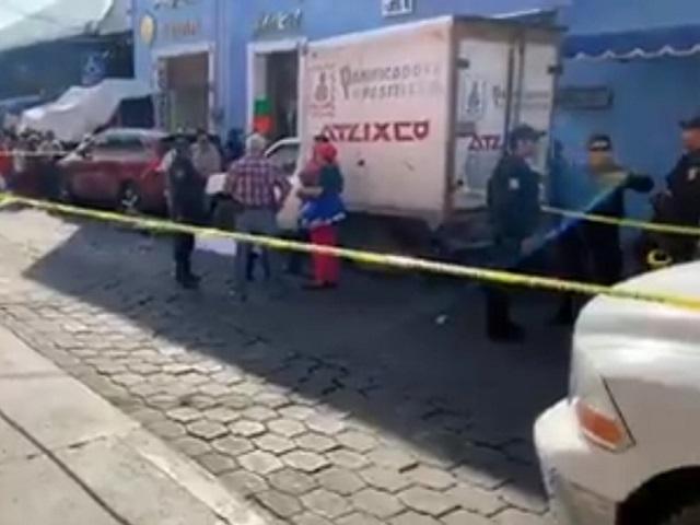Tradicional vendedor de Atlixco muere en plena calle
