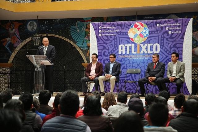 Entregan constancias a 10 ediles auxiliares electos en Atlixco