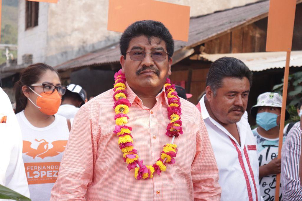 Más salud y educación promete Miguel Domínguez en Chiconcuautla