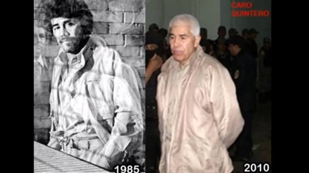 Es Caro Quintero el fugitivo más buscados por la DEA