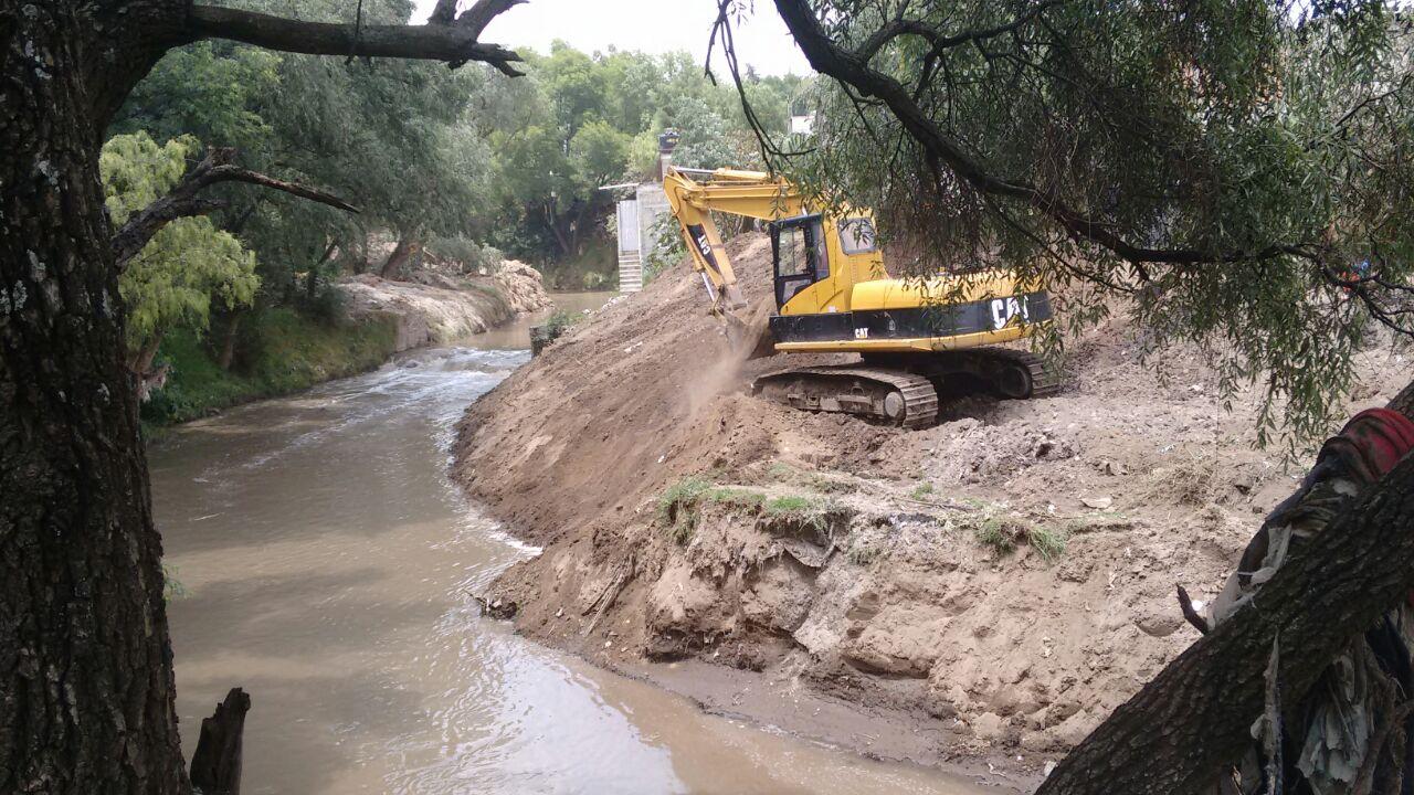 Texmelucan no recibe alarmas para río que prometió el estado