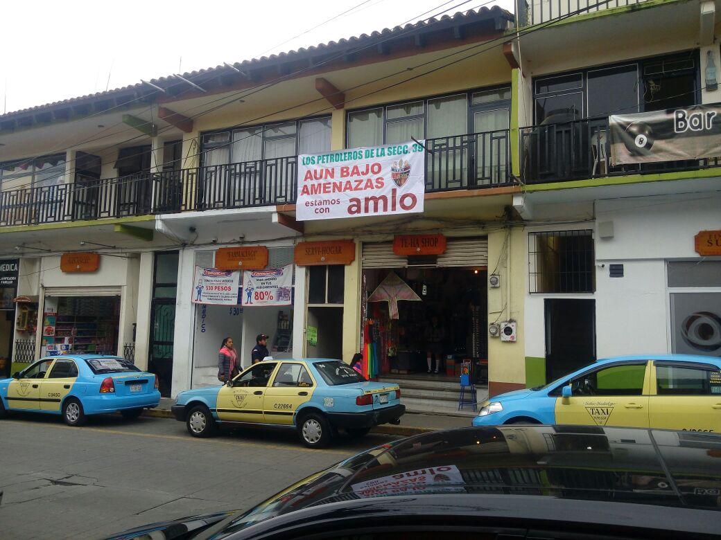 Por apoyar a AMLO, amenazan a petroleros de Huauchinango