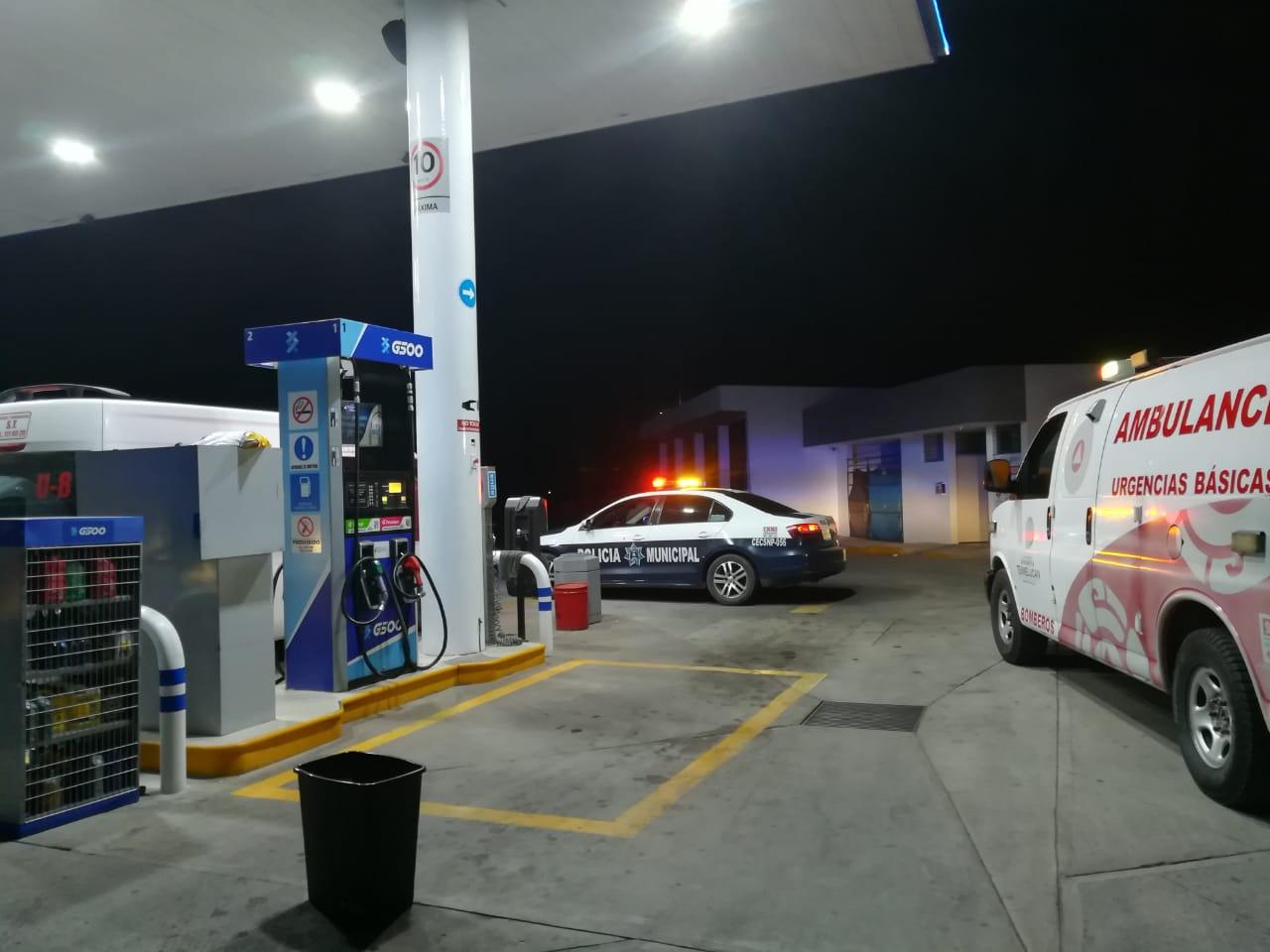 Asaltan gasolinera por segundo día consecutivo en Texmelucan