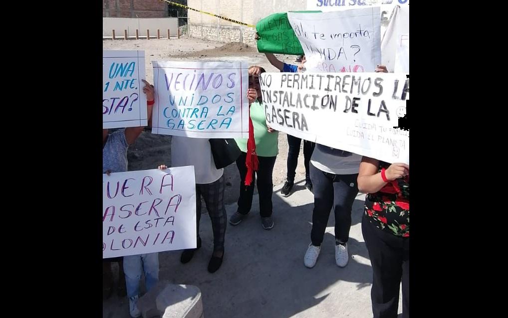 Protestan contra gasera por considerarla peligrosa en Tehuacán