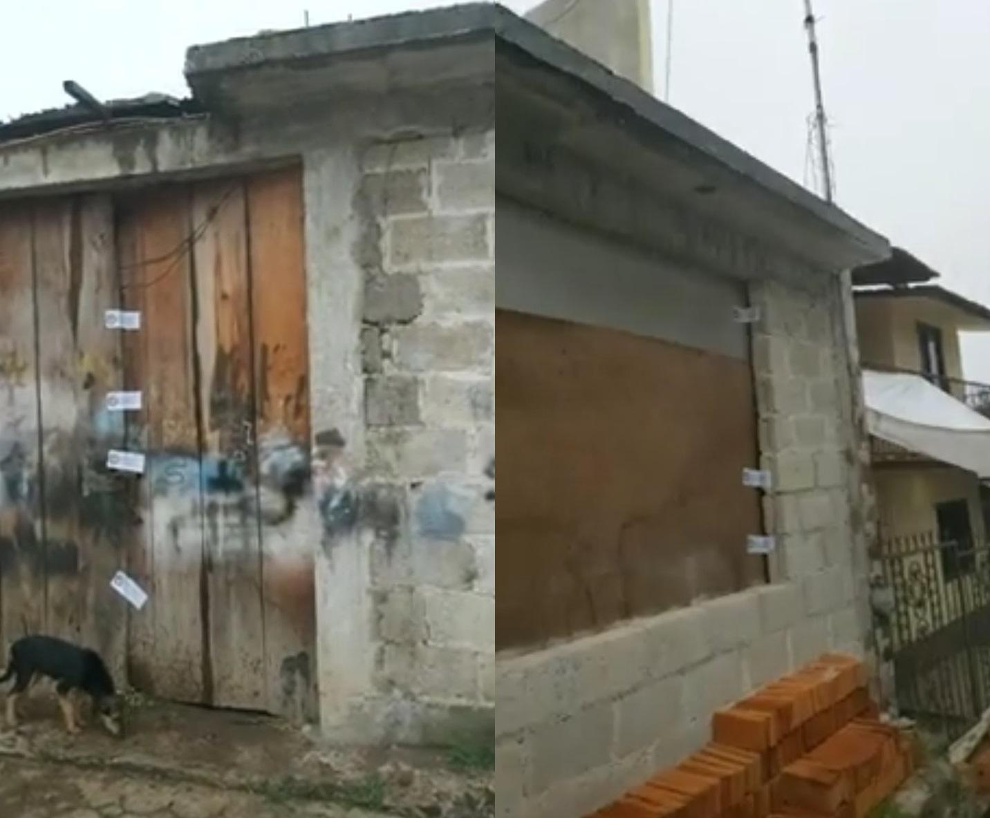 Hallan fosa clandestina en una casa de Tlatlauquitepec