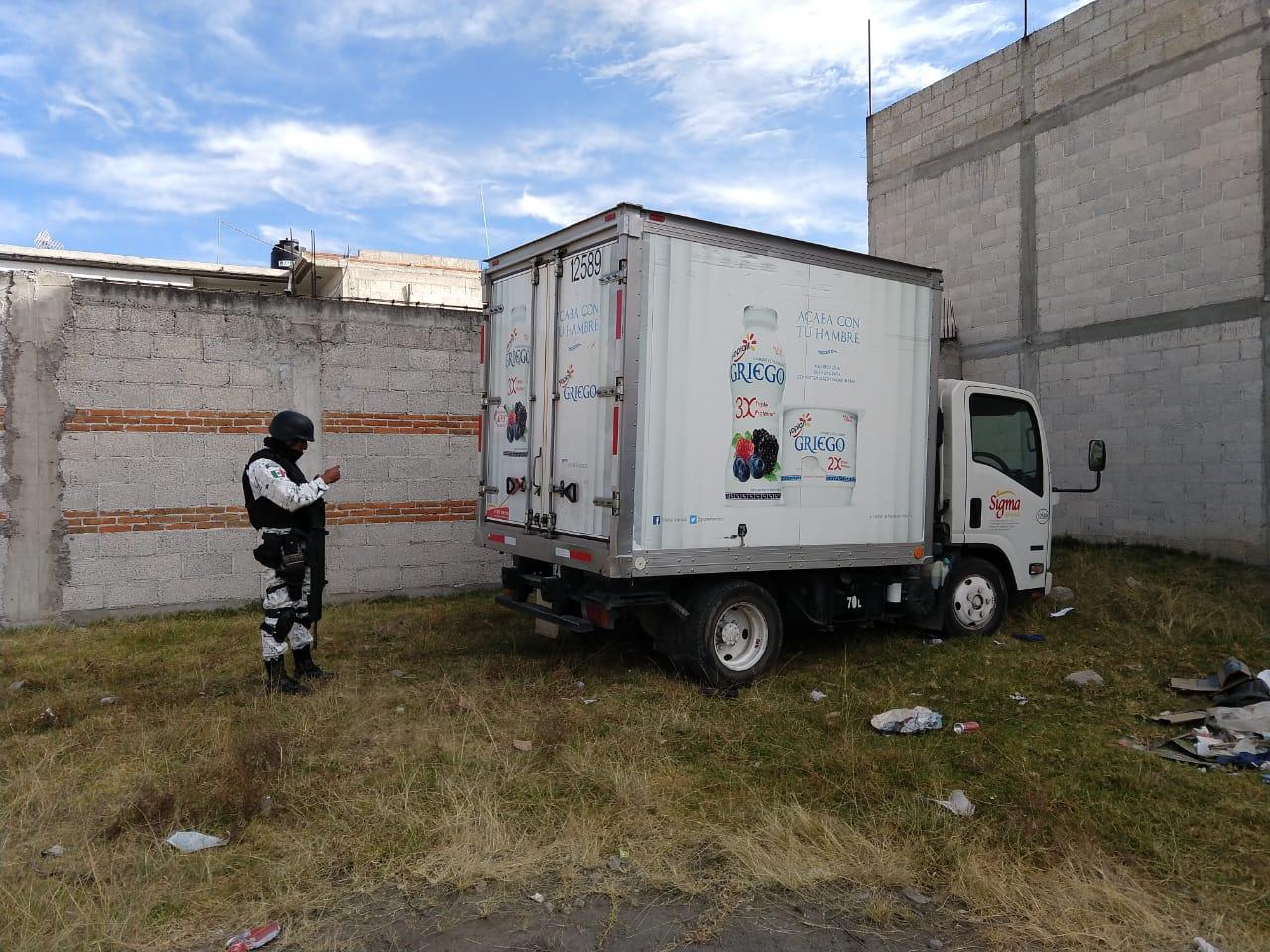 Guardia Nacional recupera tres vehículos robados en Texmelucan